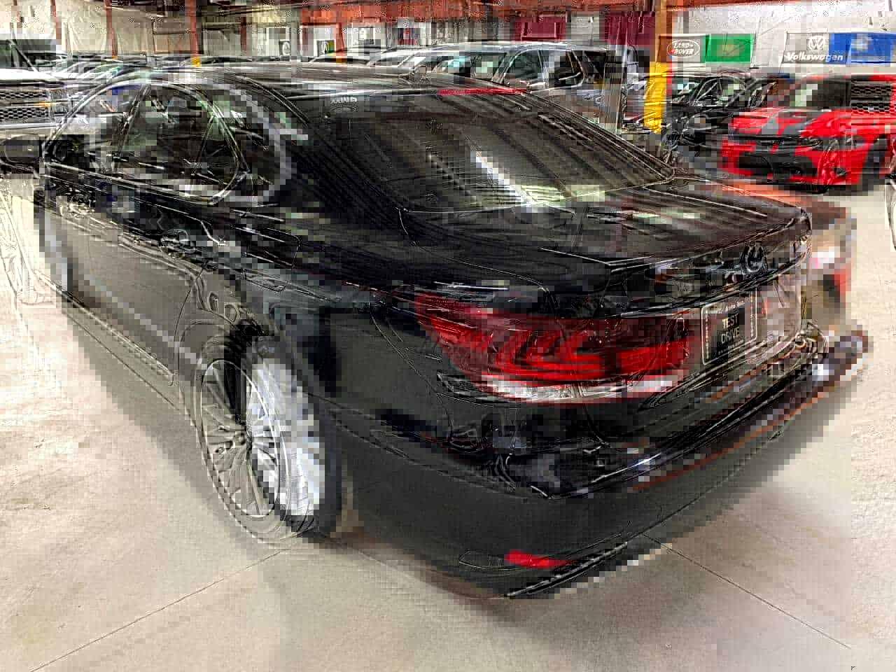 New black Lexus 3/4 view