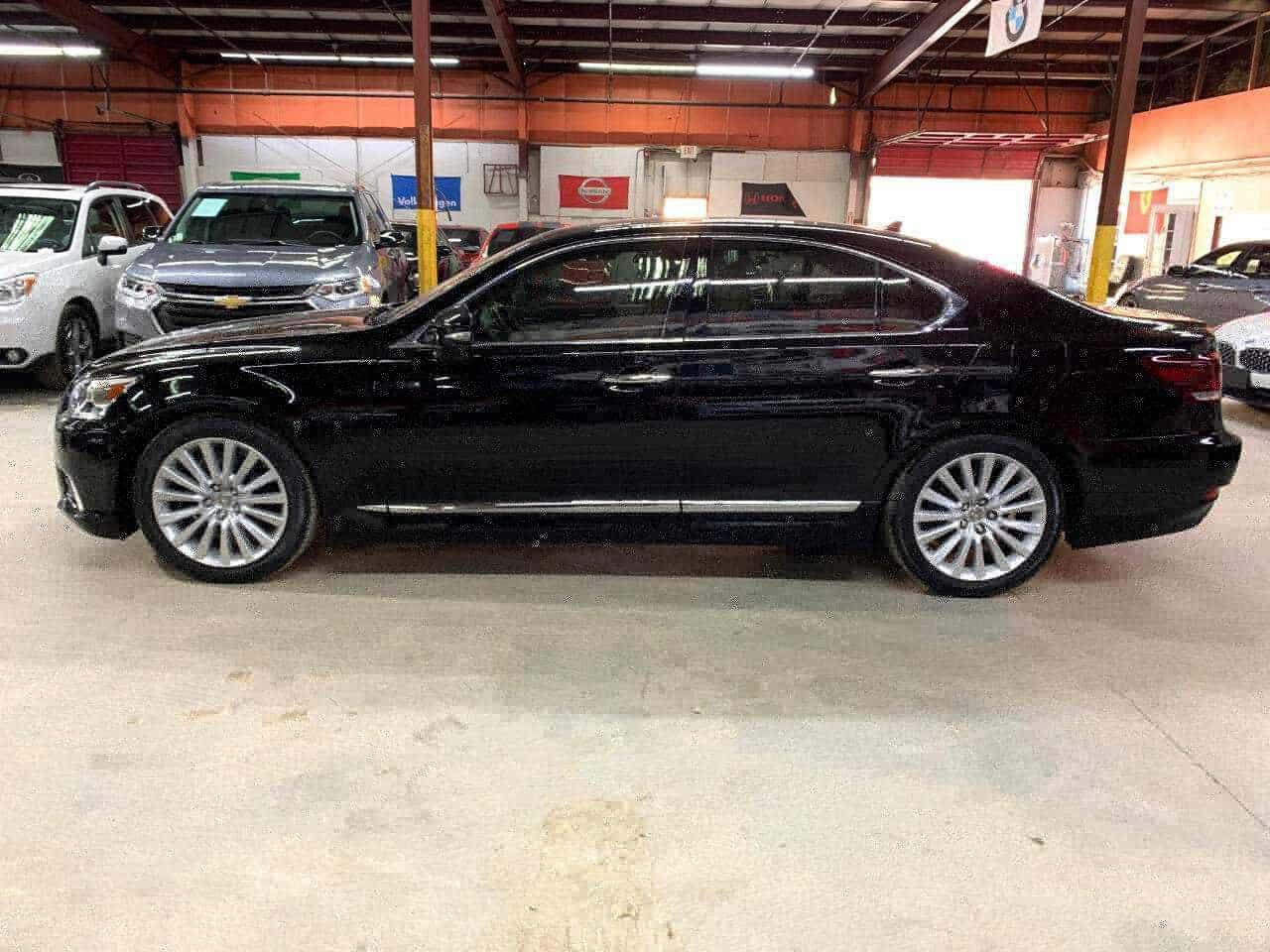 New dark Lexus side view