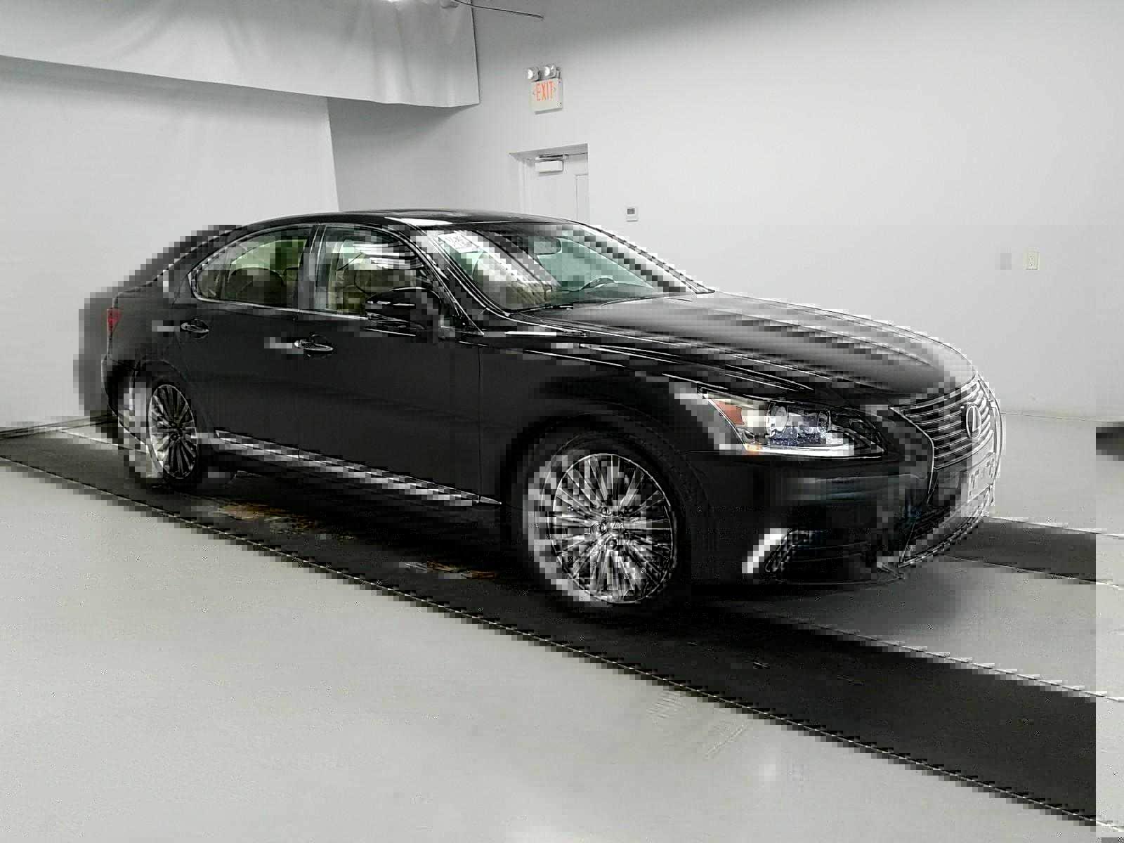 New Lexus side view