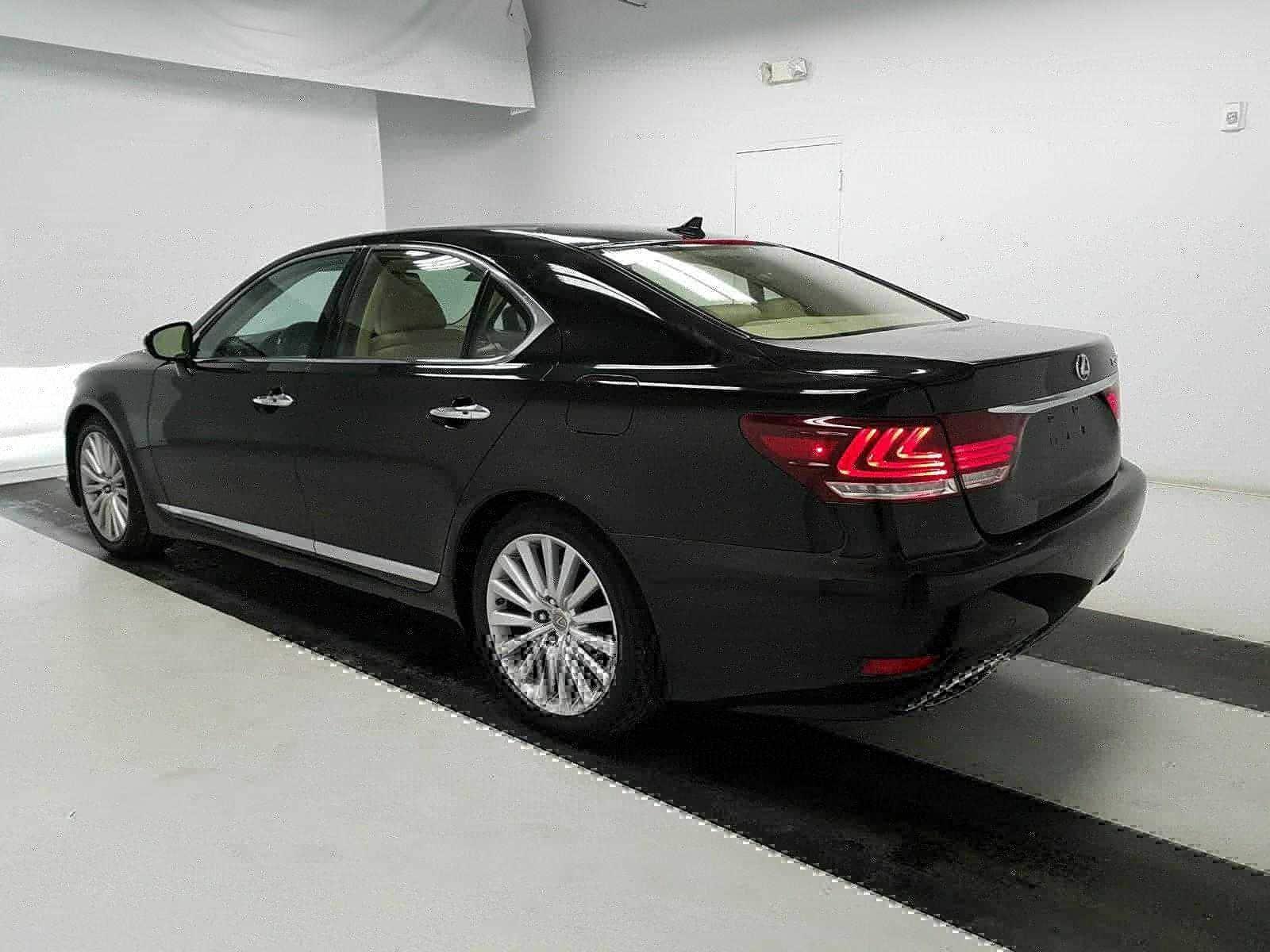 New Lexus 3/4 back view