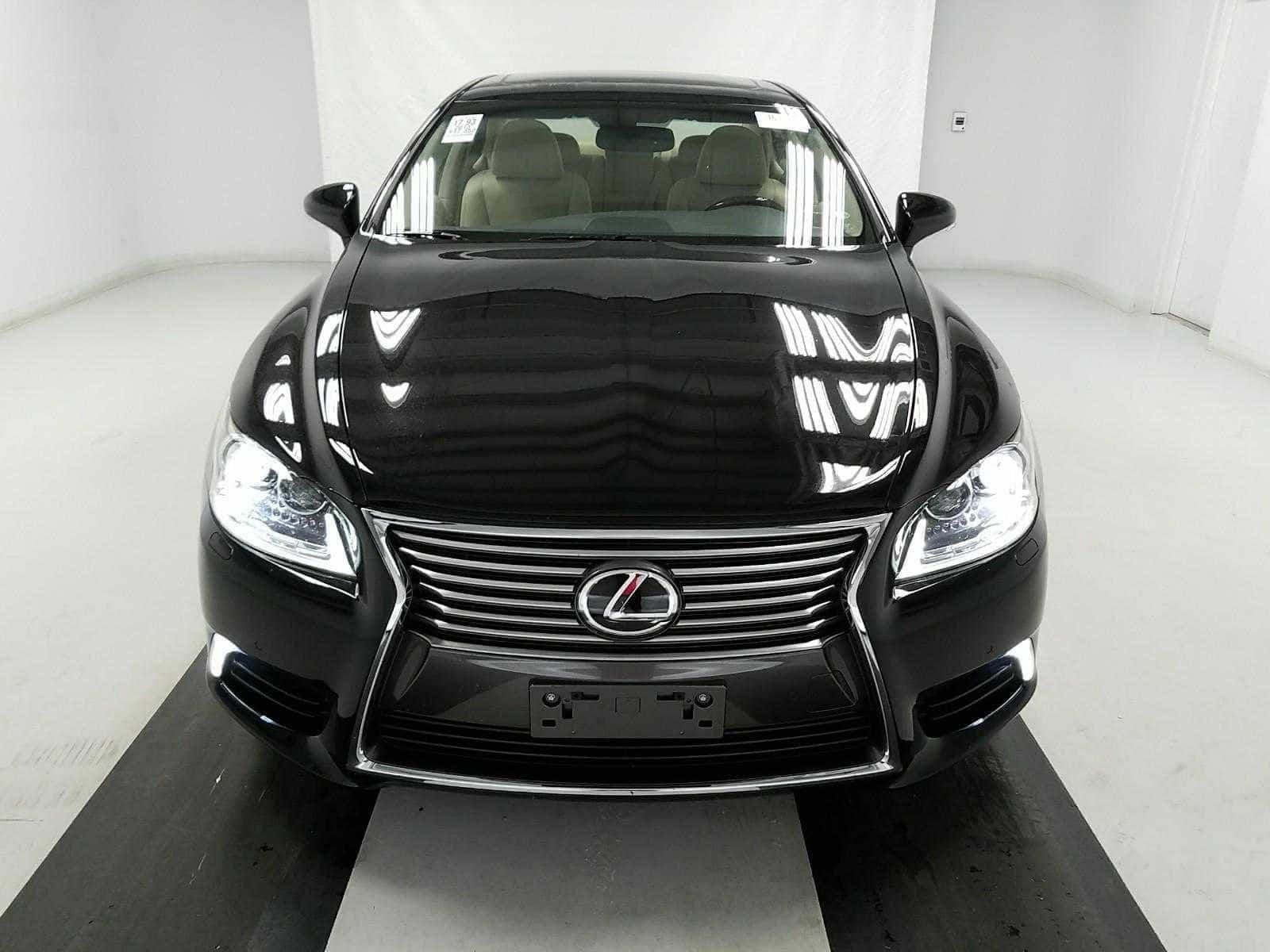 New Lexus front view