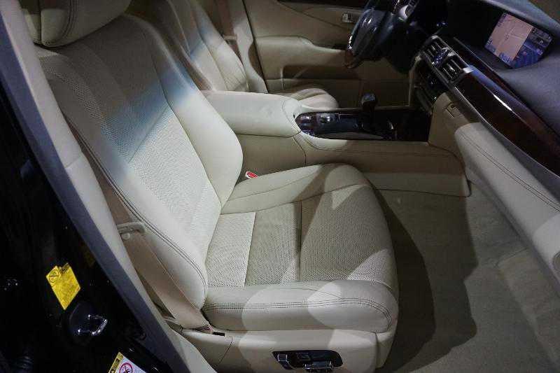 Light interior of a car