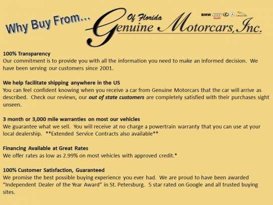 Genuine Motorcars Inc.