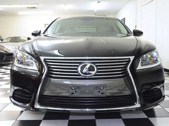 Black new Lexus front view