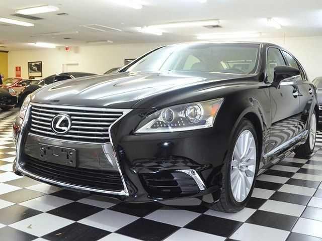 Black new Lexus 3/4 view