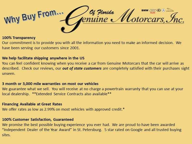 Why buy from GMI